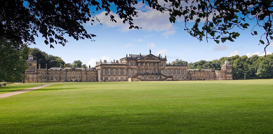 Wentworth Woodhouse Rotherham. Heating works by Bumfords