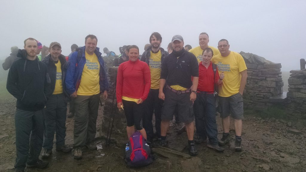 Yorkshire Three Peaks Challenge September 2016