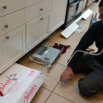 installing kitchen plinth heater