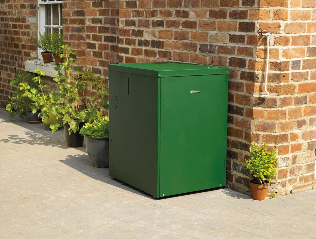 Worcester External Oil Boiler