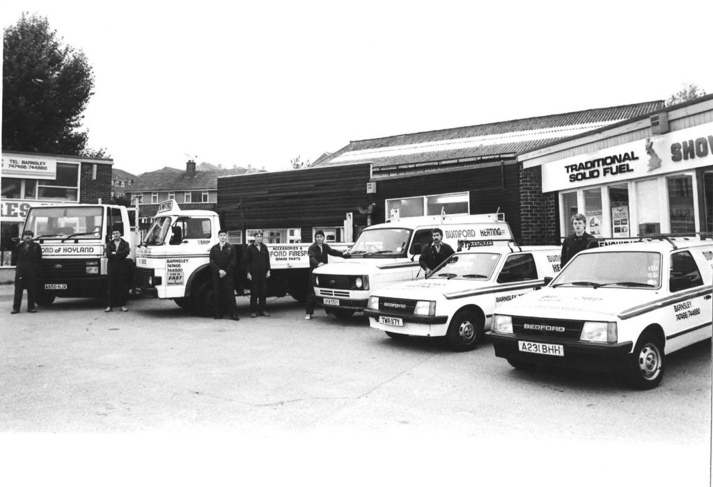 Bumford Heating Limited, Millhouses Street, Hoyland 1980s